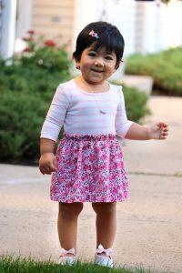 Summer Dress_Summer Pink Dress_Girls Dress_Nice Pink Dress