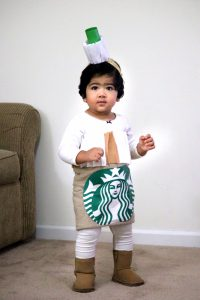 ... Looks For Halloween Done By Me . So This Time Itu0027s About DIY Starbucks  Family Costume And The Best Part Of This Costume Is This Lovely Coffee  Costume.